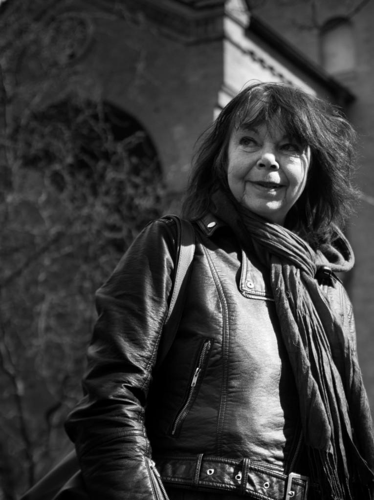 Christina Emig-Koenning, Leiterin der Theaterkapelle in der Boxhagener Straße. Photo: Patrick Popow