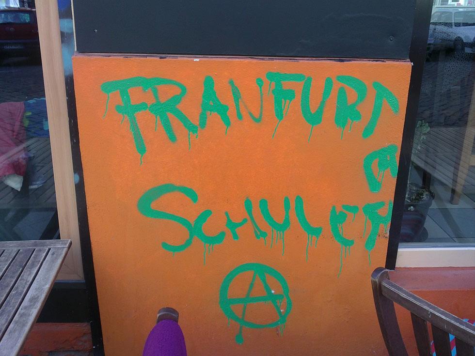Franfurter Schule im Friedrichshain.