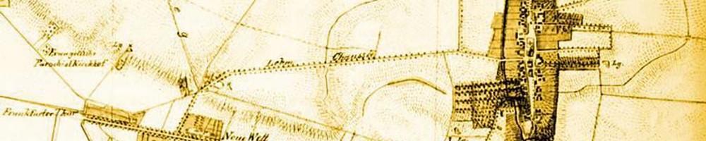 Kolonie Friedrichsberg um 1770 Karte: Landesarchiv Berlin