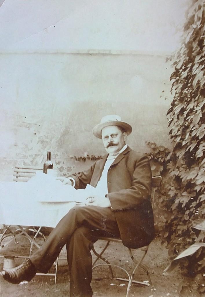 Aus dem Familienalbum: Ernst Hahn. Bild: Museum Lichtenberg