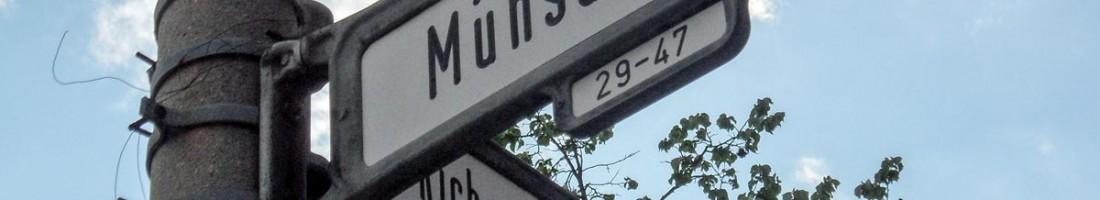 Mühsamstraße Ecke Richard Sorge Str.