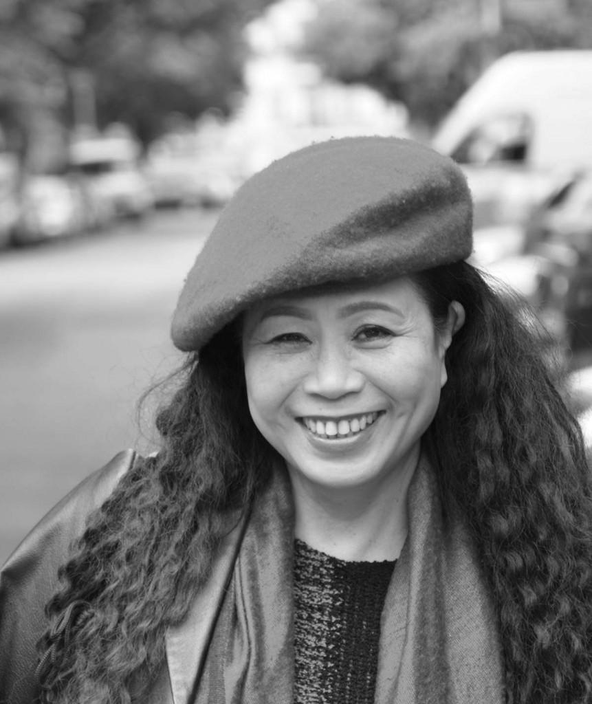 Die Journalistin und Entertainerin Pham Quynh Nga. / Foto: Dirk Moldt /