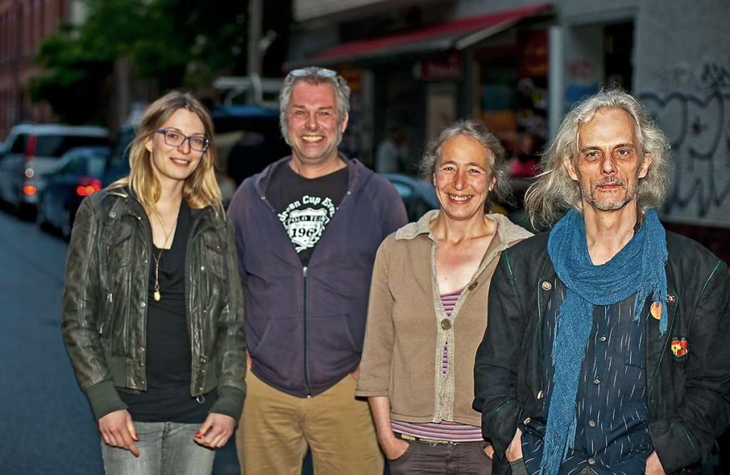 Mitglieder der Redaktion des Friedrichshainer Zeitzeiger
