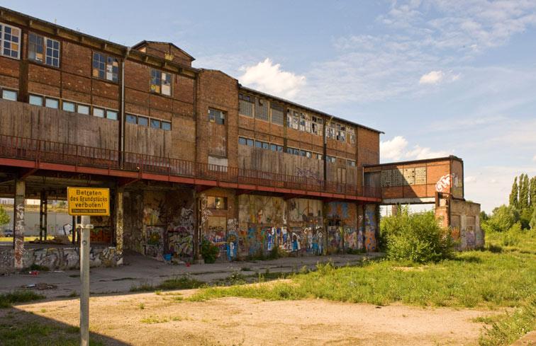 Was mit den Resten des alten Glaswerks passieren wird, ist noch offen, aber das Bürgerforum hat Ideen.