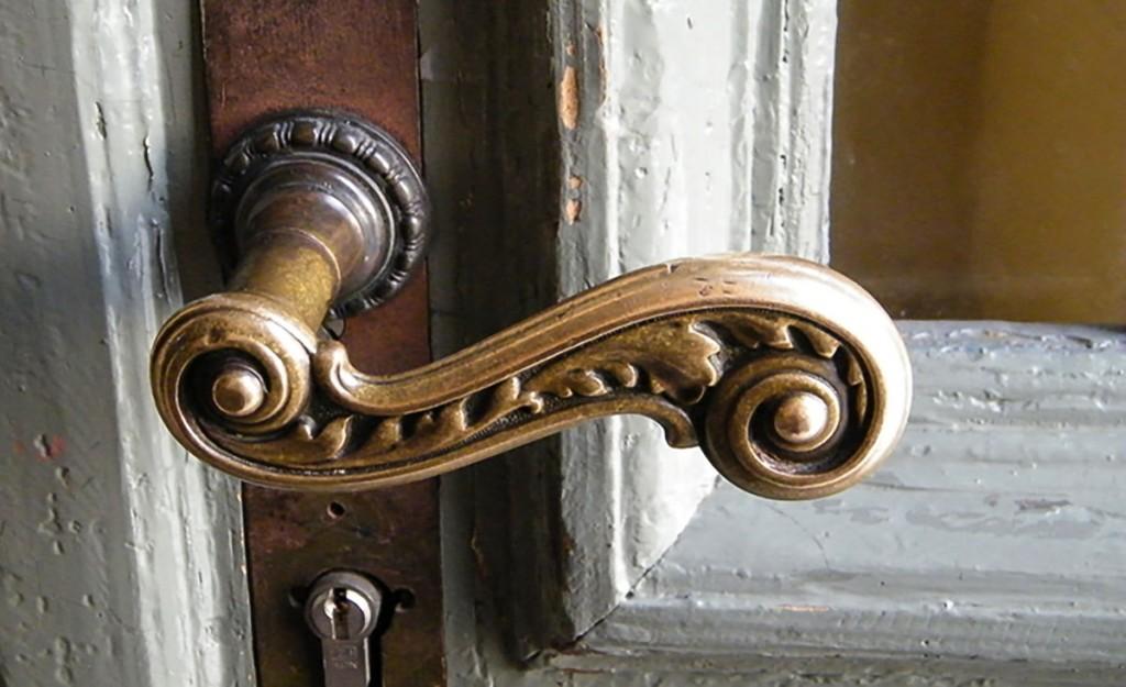 Die Tür des Zentrum danziger 50