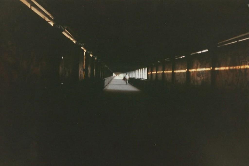 Tunnelfeeling über Berlin. Der Storkower Tunnel etwa 1995 / Foto: privat /