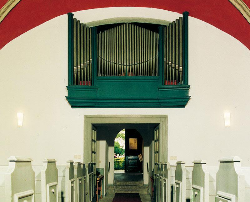 Die Schuke-Orgel in der Stralauer Dorfkirche