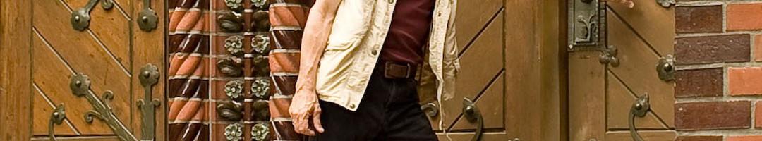 Detlef Krenz, zur Junggesellenzeit Büromaschinenmechaniker, später Studium der Historie und der Medienwissenschaften, auf der Suche nach vergessenen Partikeln der Friedrichshainer Geschichte. /Foto: Silvio Weiß /
