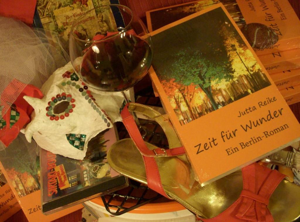 Jutta Reike liest aus Zeit für Wunder im Casero Friedrichshain.