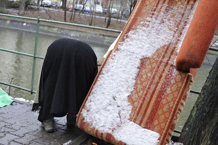Es wird kalt in Berlin. Foto: Marga van den Meydenberg