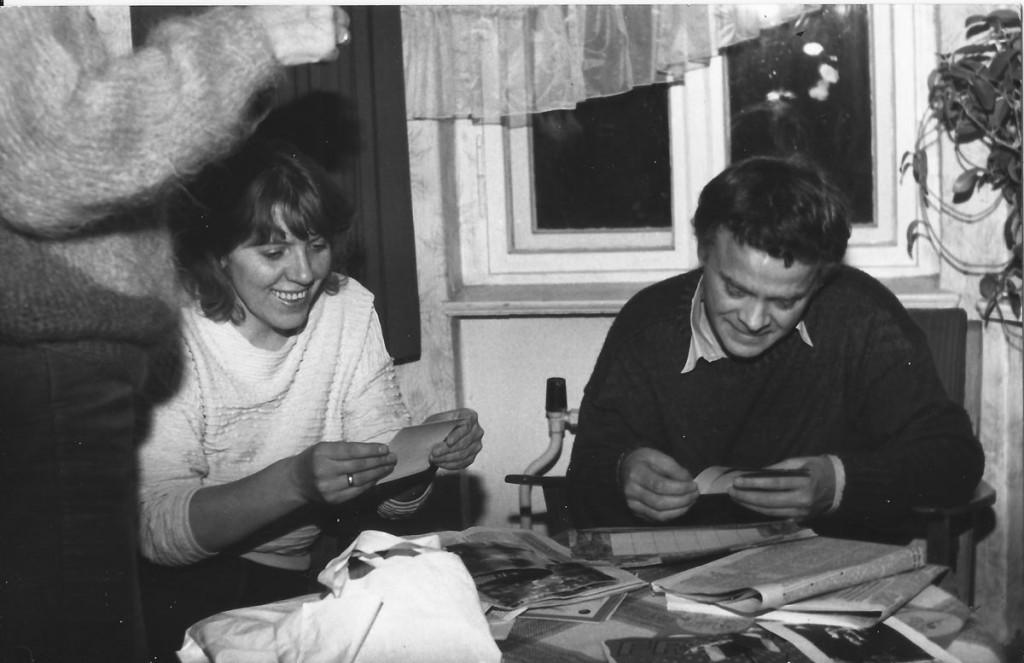 Friedenspartnerschaft mit der Amsterdamer Dominikus-Gemeinde 1986 in Waldsieversdorf.