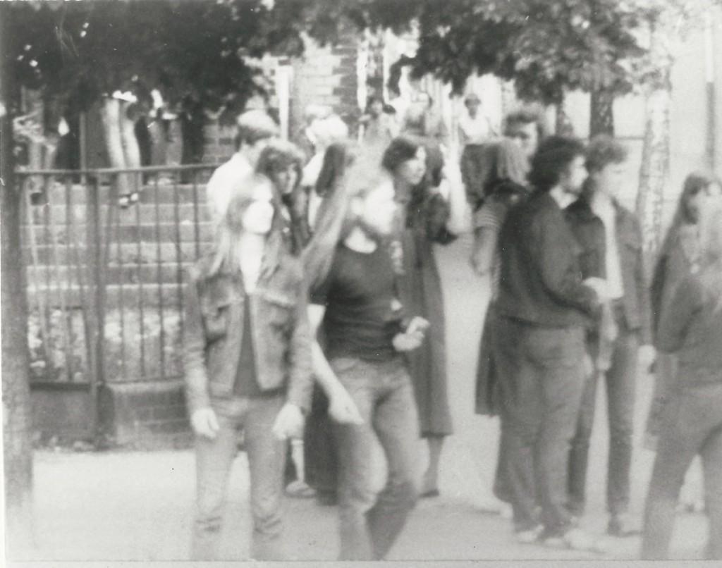Blues-Messe in der Samariterkirche. Zu den legendären Blues-Messen reisten junge Leute aus der ganzen DDR an