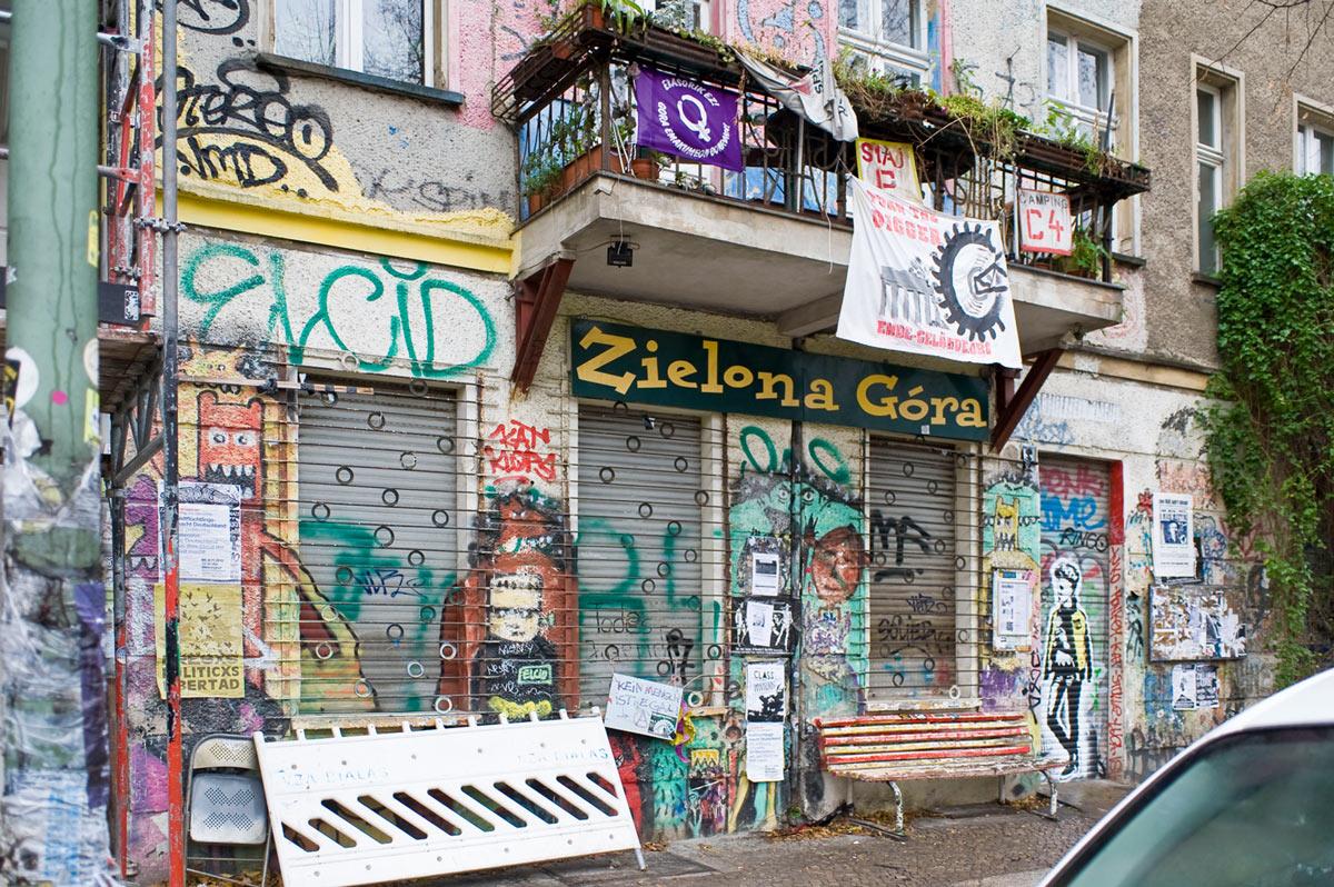 unterwegs in Friedrichshain am Boxi, in der Boxhagener Straße Südkiez