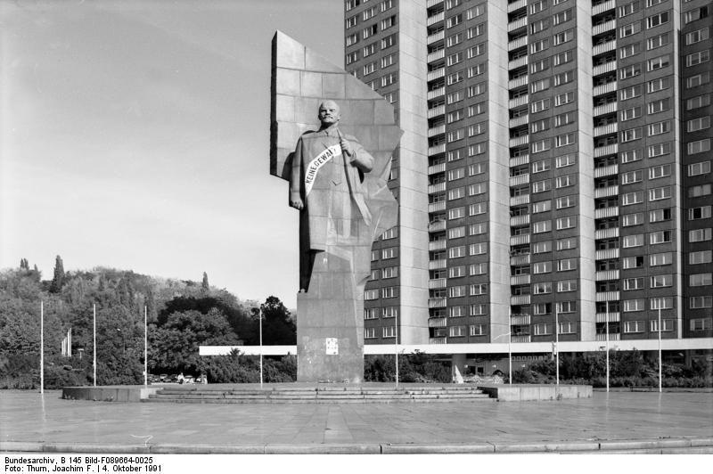 Berlin, Lenin-Denkmal auf dem Leninplatz