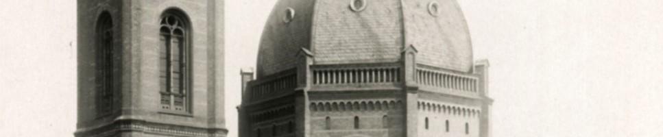 St. Markus-Kirche um 1910, Berlin-Friedrichshain