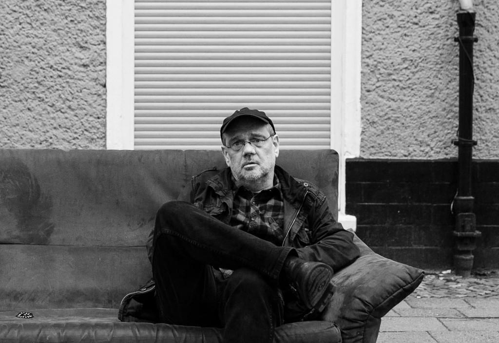 Florian Günther ist nicht nur der Dichter und Fotograf, sondern vor allem ein Beobachter. Foto: Giovanni Lo Curto