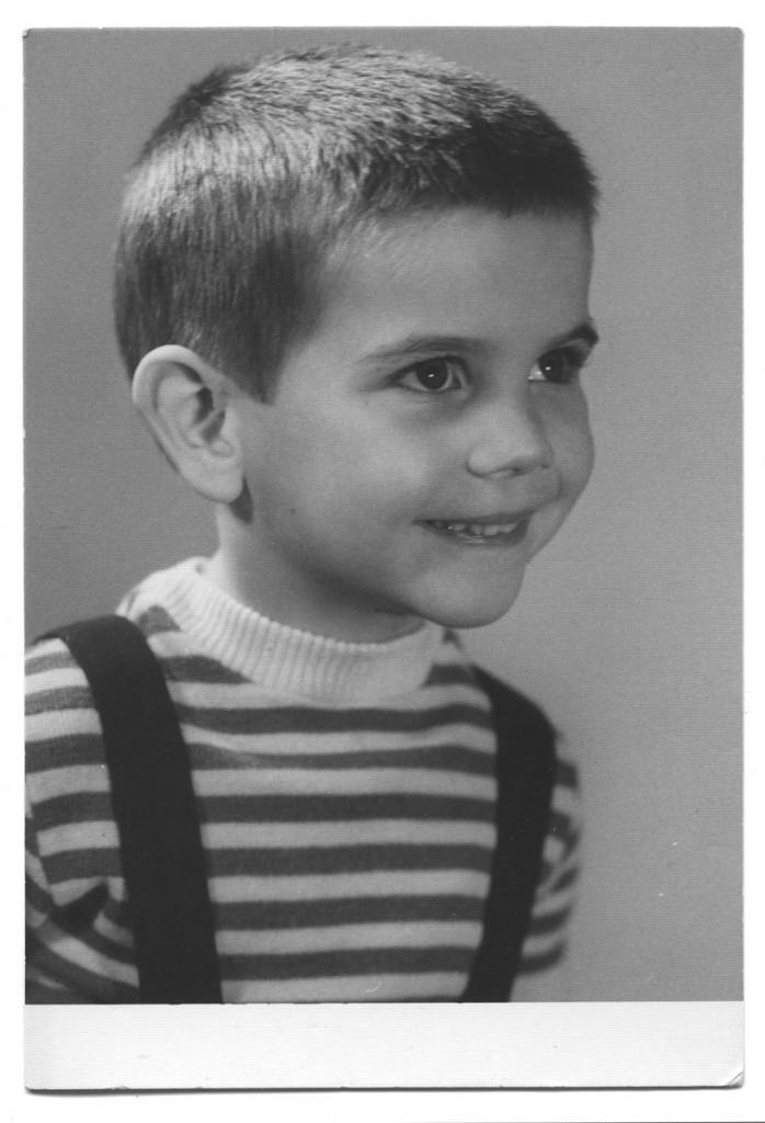 Florian Günther. Im zarten Kindergartenalter, Ende der 1960er Jahre. Foto: Privat