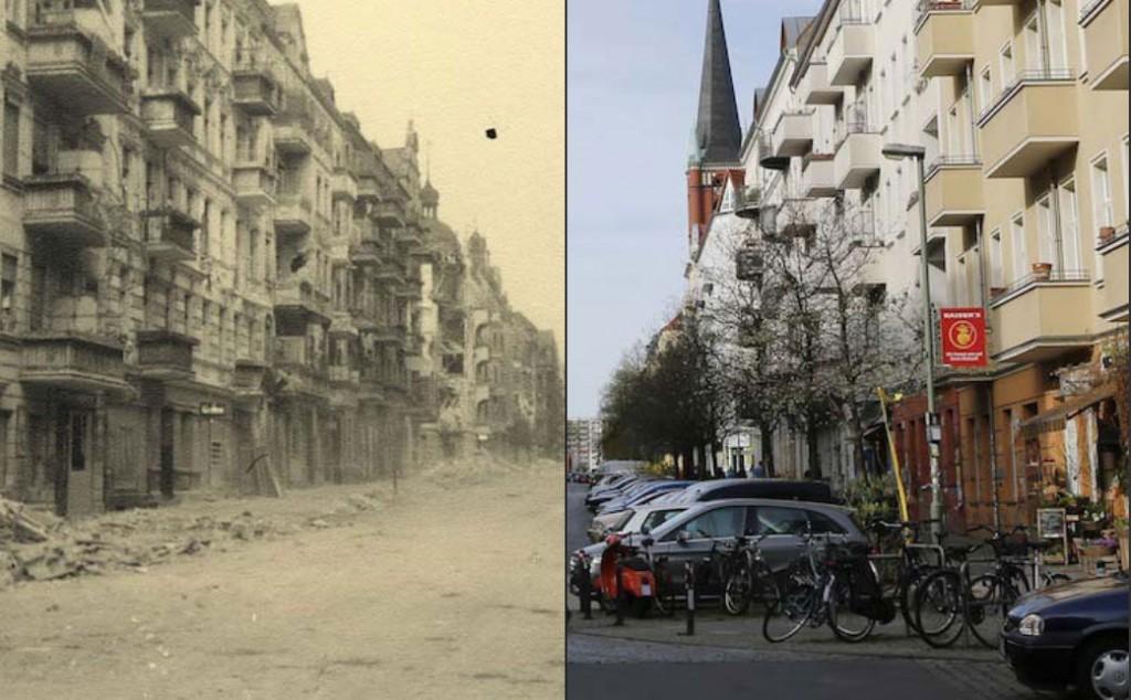 Bilder eines sowjetischen Korrespondenten zeigen Berlin kurz nach dem Krieg. 70 Jahre später besucht der Berliner Fotograf Fabrizio Bensch die Orte noch einmal.