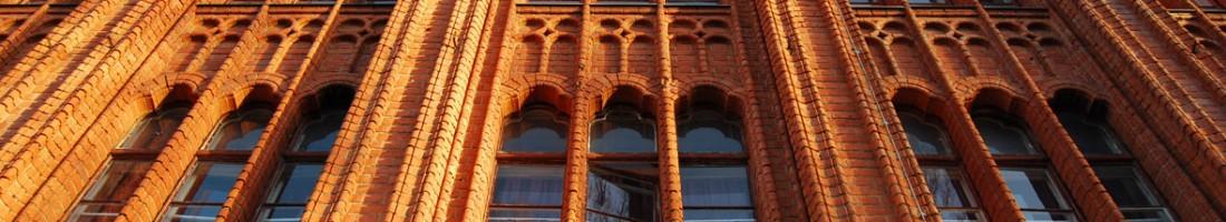 Ehemalige Höhere Fachschule für Textil- und Bekleidungsindustrie, seit 2008 Hostel / Foto: B. Ambrus /