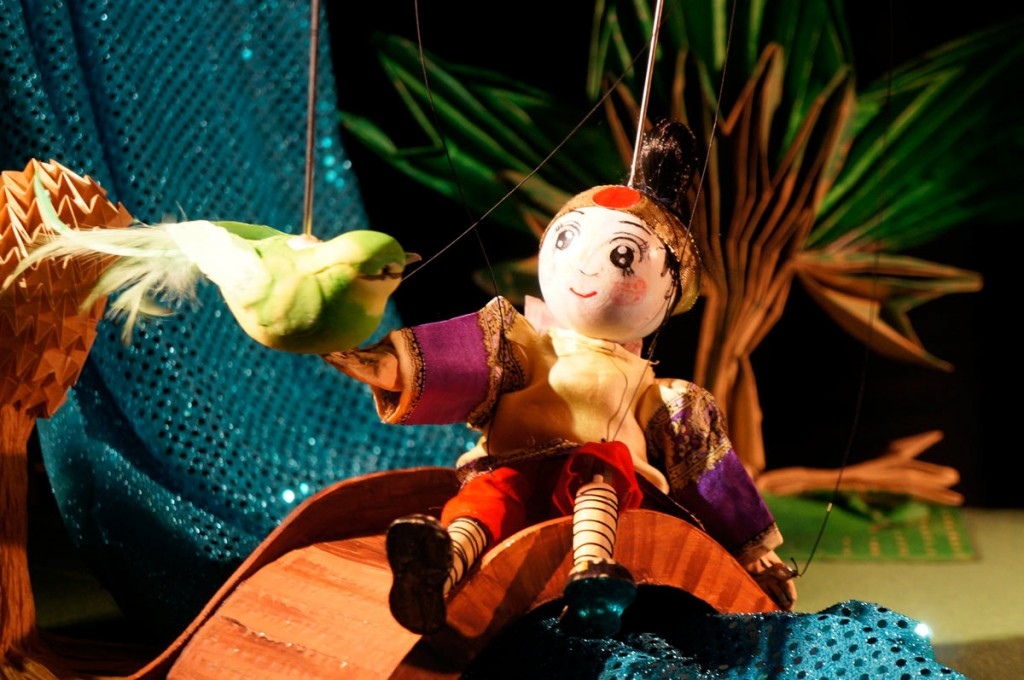 Momotaro, der Junge aus dem Pfirisch |  © Theater der kleinen Form
