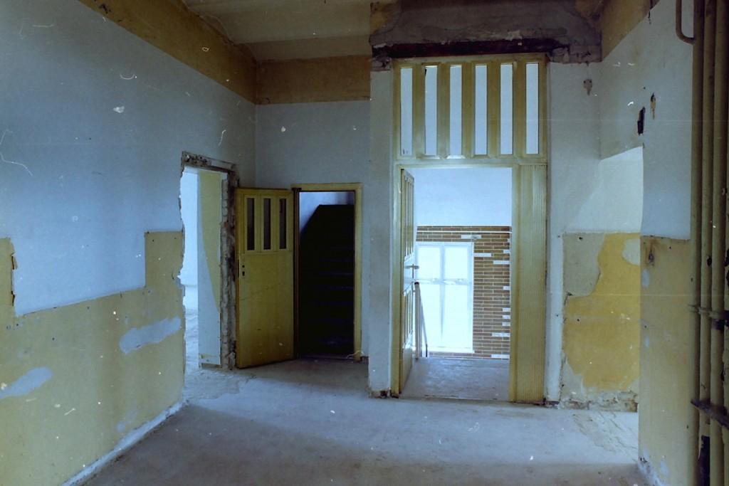 Jedes Stockwerk war mit Gefängnistüren verschlossen FotoQuelle: Brenne Architekten