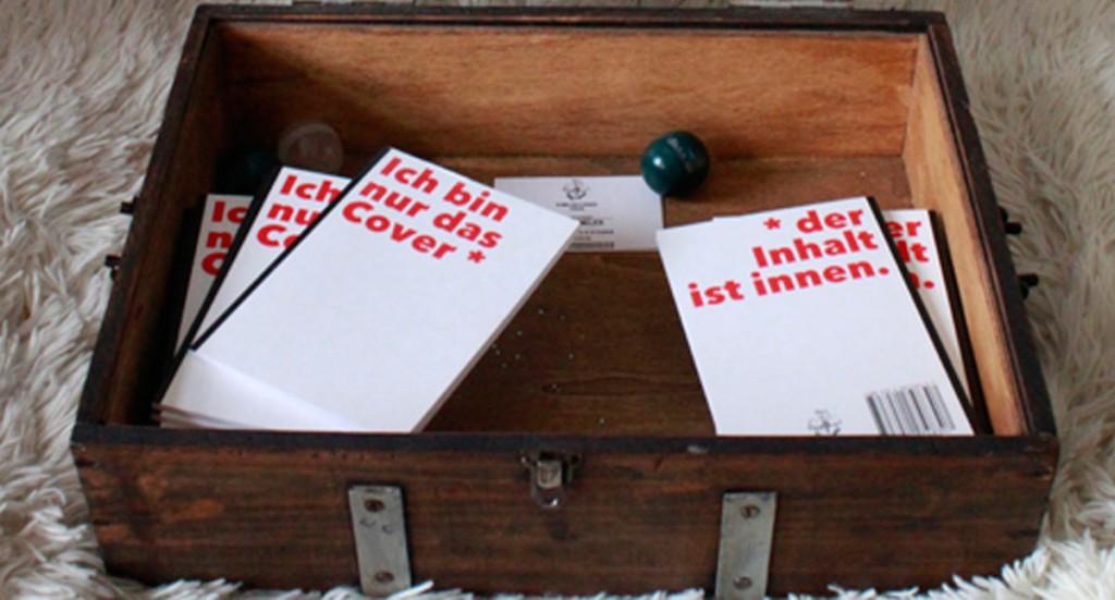 Glückstextautomat Das Verlagsportrait – Lesung und Gespräch mit Arne Schmelzer