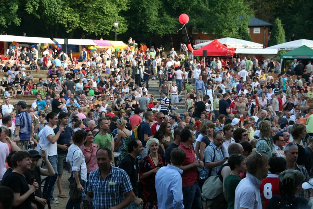 Parkfest Friedrichshain, Foto: jugendnetztwerk::lambada Berlin-Brandenburg e.V.