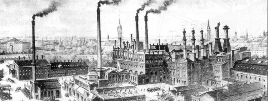 Die Böhmische Brauerei ebenfalls um 1900, Quelle: privat