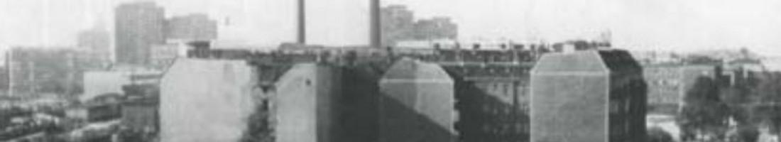 Der Helsingforser Patz vor der Bebauung 1984
