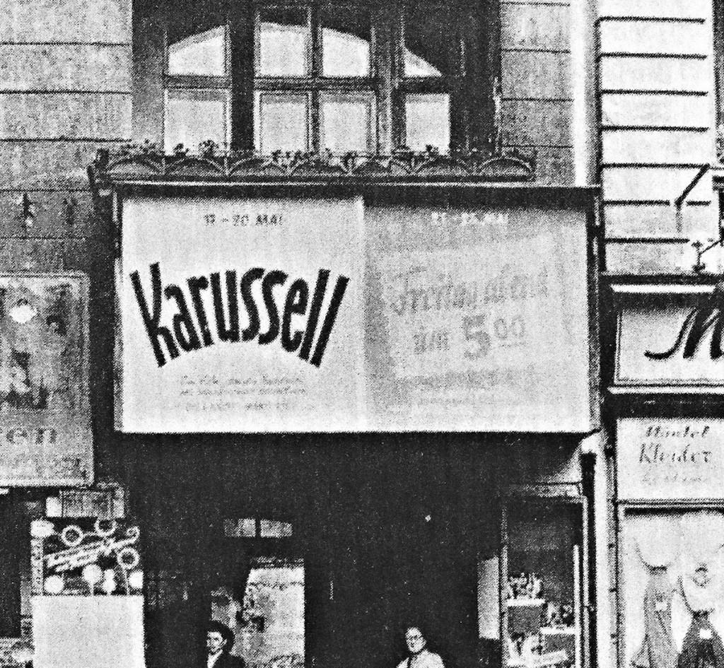 Das Karussell Kino, 1941, Quelle: Kunstwissenschaft TU Berlin