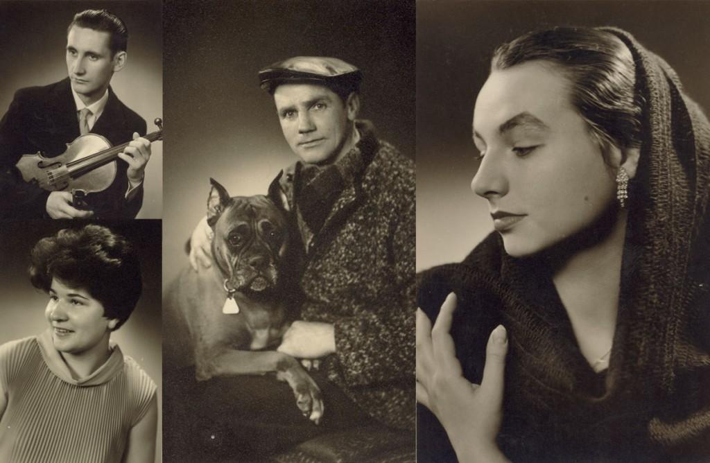 Porträtaufnahmen aus den 1950er/1960er Jahren / © Fotos mit Herz /