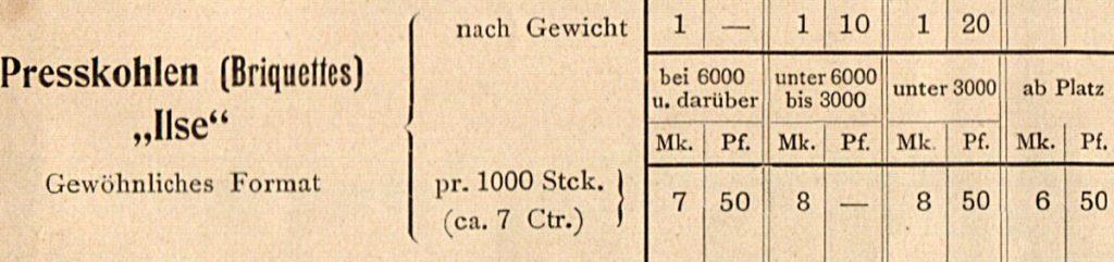 Werbeanzeige von Gustav Schulze, einem Großhändler vor 1914, Quelle: Privatarchiv