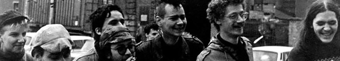 Silvio Meier und Freunde, 1988; Foto privat
