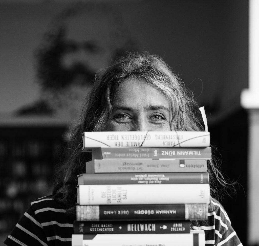 Vanessa Rémy, Leiterin des Literatursalons Karl-Marx-Buchhandlung, Foto: Giovanni Lo Curto