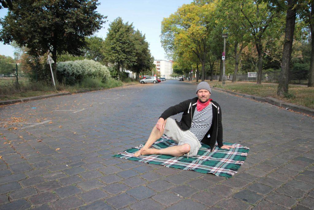 Liegewiese statt Straße, Foto: Dominique Roth