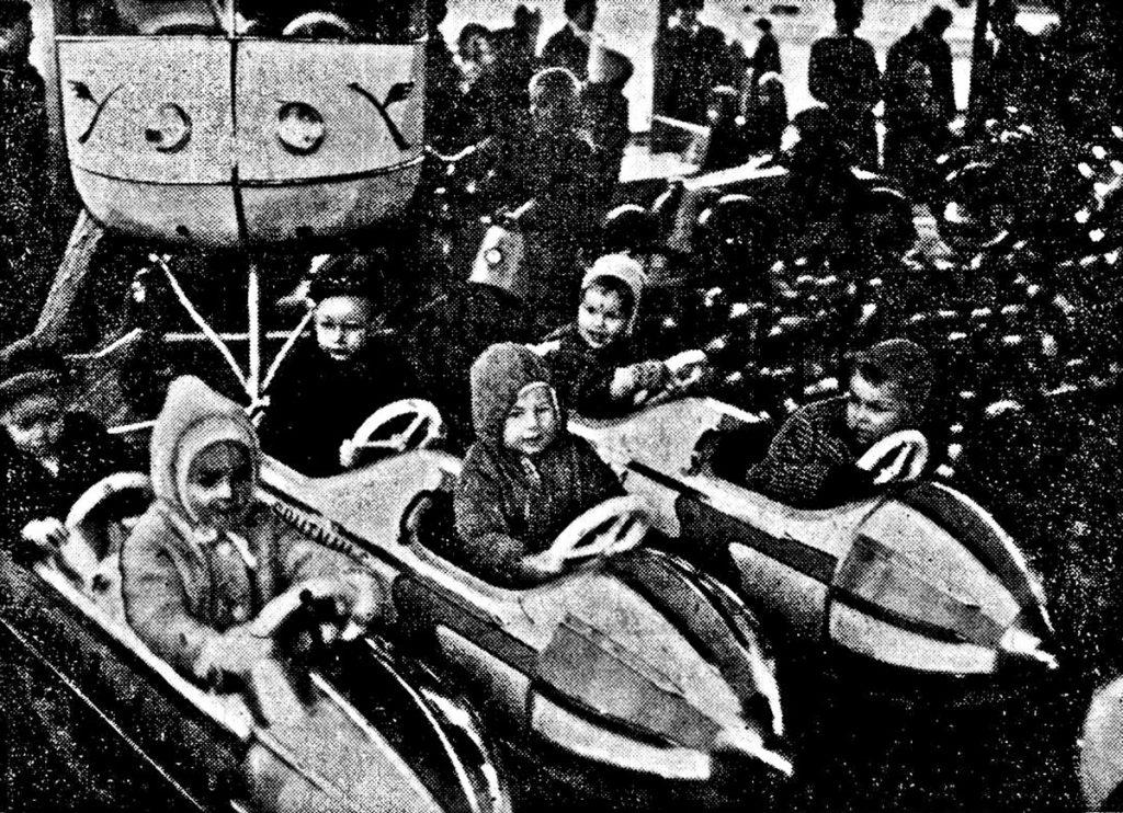 Weihnachtsmarkt und Jahrmarkt in den 60er Jahren, Quelle: Privatarchiv