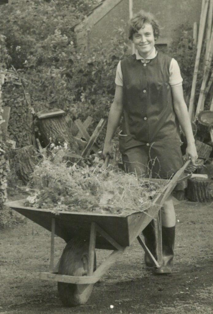Christine Cyrus, Ende der 1960er, Foto: privat