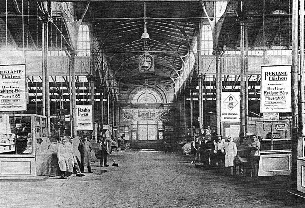 Halle VIII: Andreashalle; Quelle: Erich Rindt (1928): Die Markthallen als Faktor des Berliner Wirtschaftslebens