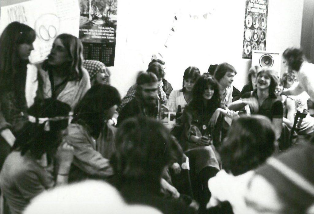 Offener Abend in der Galiläa-Gemeinde in den 1980ern
