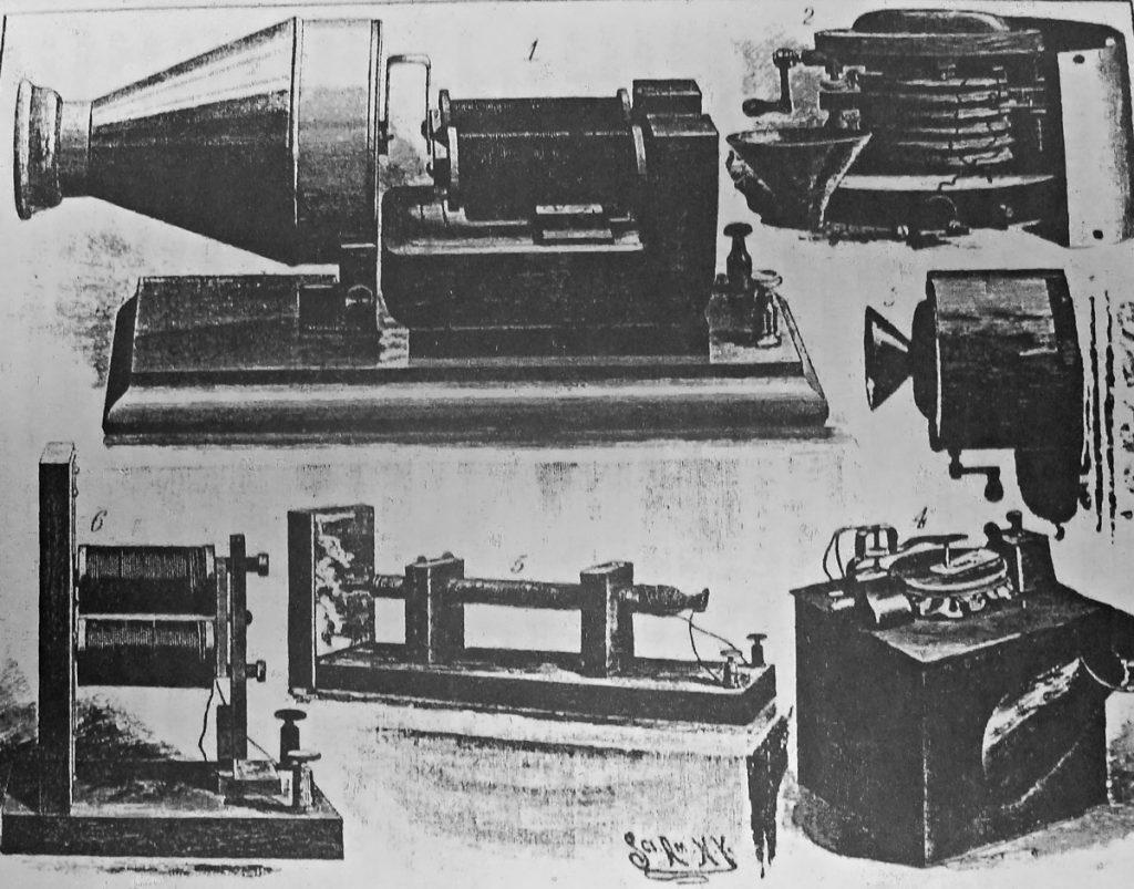 Die ersten Jahre der Telefone; Quelle: Oskar Grosse (1917) 40 Jahre Fernsprecher