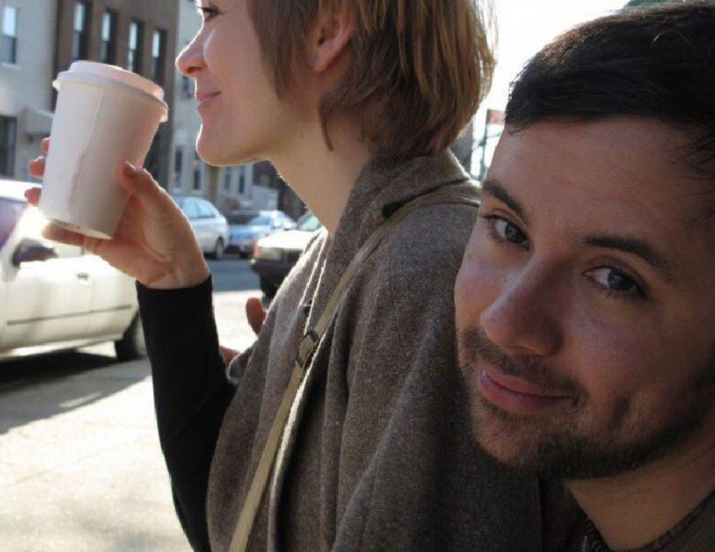 Anne Mieth und Rodrigo Franco in Brooklyn, Foto: Tom Rauner