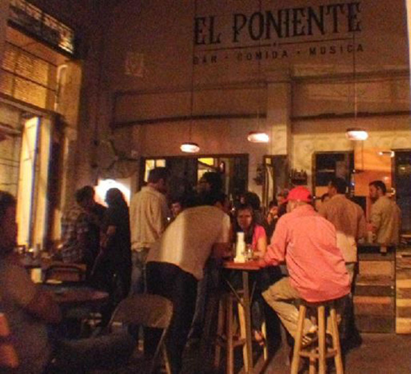 Das Lokal El Poniente in Asunción, Foto: privat