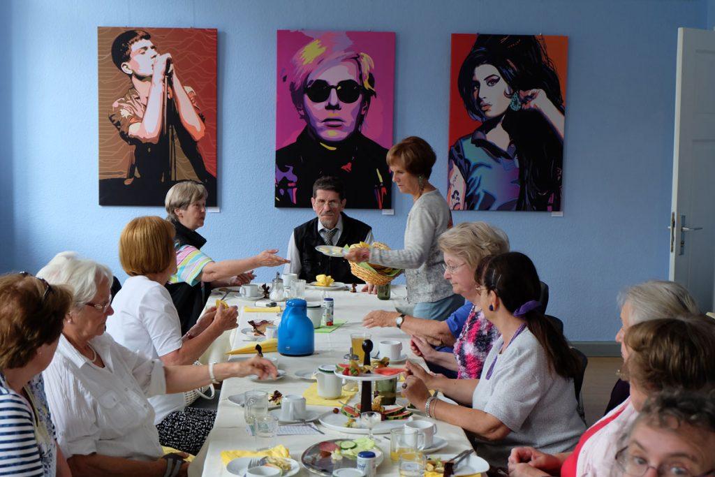 Frühstück im RuDi Kultur- und Nachbarschaftszentrum, Foto: RuDi