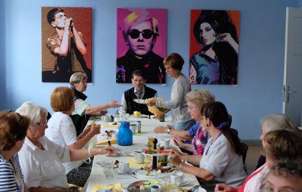 Frühstück mit Kultur