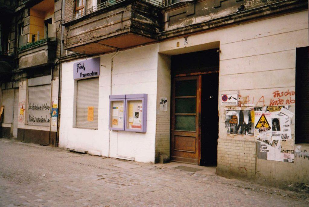 Das Frauenzentrum in den 90ern, Foto: Frieda Frauenzentrum e.V.