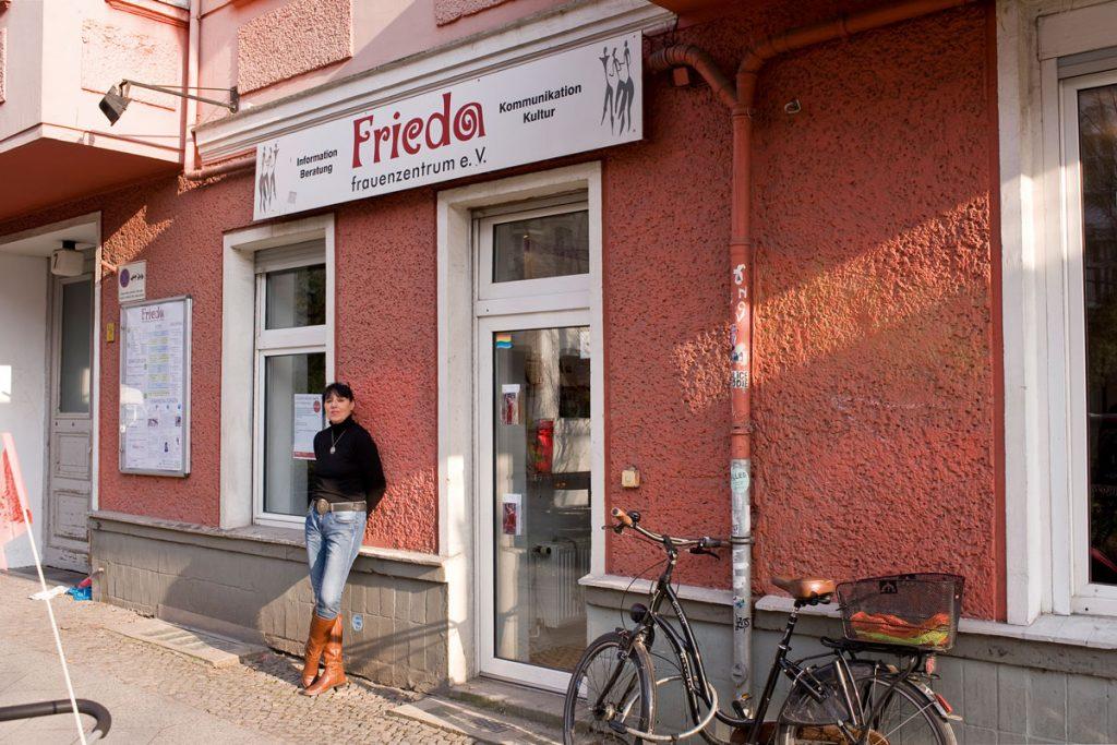 FRIEDA Frauenzentrum, Foto: Silvio Weiß