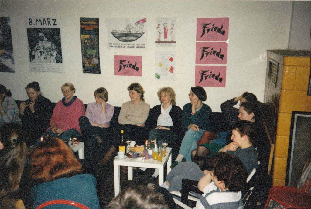 Frauenzentrum in den 1990er Jahren, Foto: Frieda-Frauenzentrum e.V.