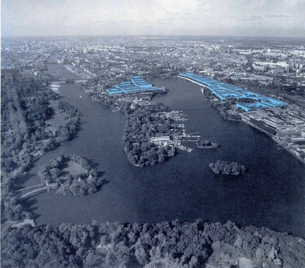 Das geplante Olympische Dorf,Bild: privat
