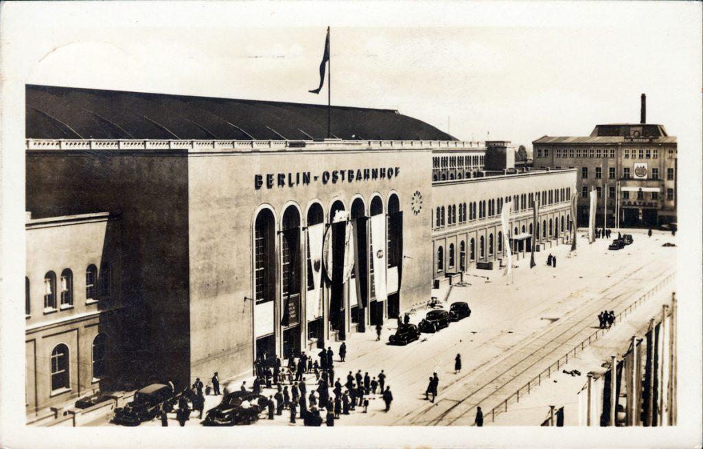 Der Ostbahnhof in den 1960er Jahren