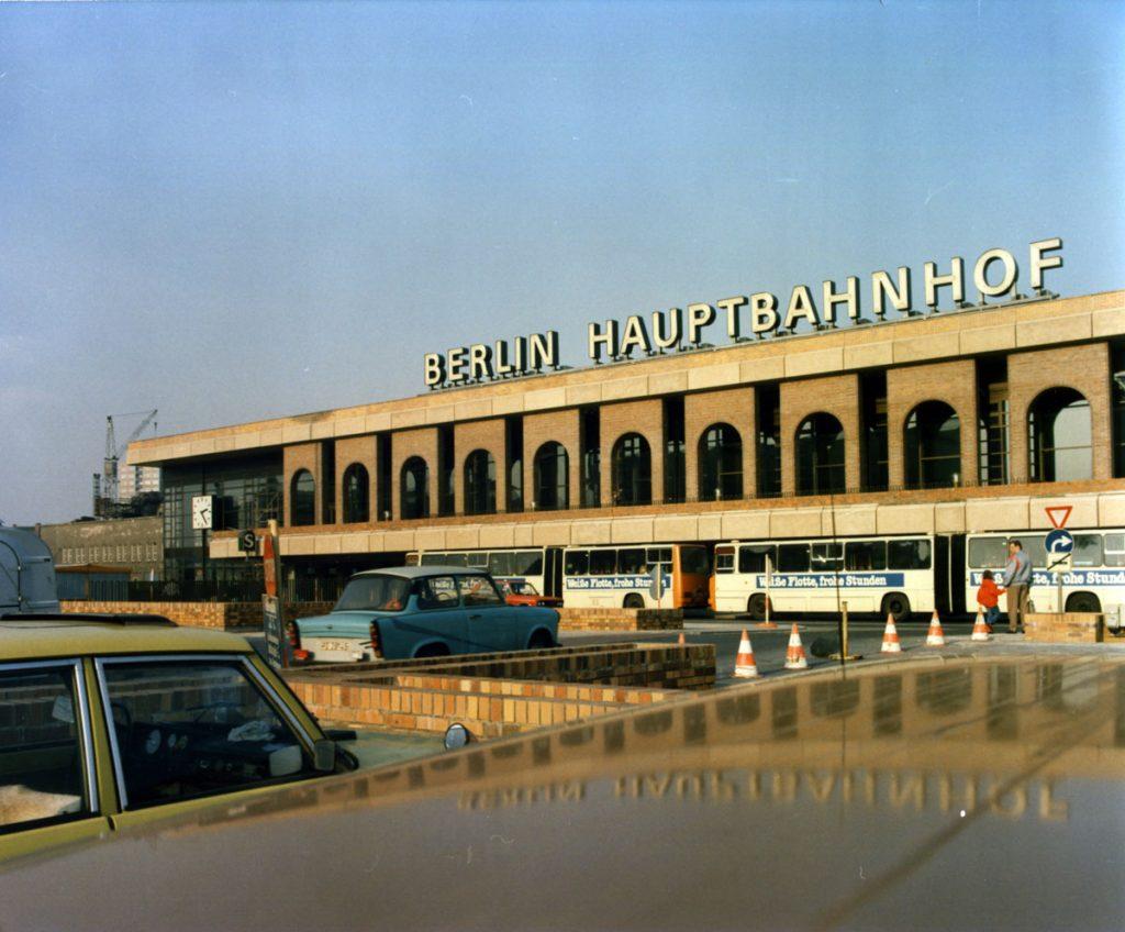 Der Ostbahnhof in den 1980er Jahren, Foto: FHXB-Museum